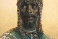Carl Haag - Adullah, Poveljnik straže paše Saida