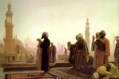 Jean-Léon Gérôme - Molitev v Kairu