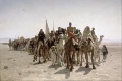 Léon Belly - Romarji na poti v Meko