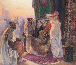 Maks Viktor | 1001 noč | Otto Pilny - Tržnica s sužnji (1919)